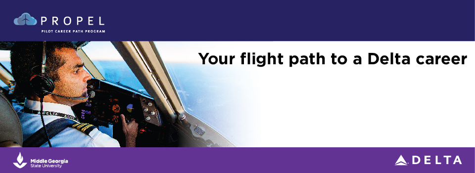 Propel pilot career path program, your flight path to a Delta career, now accepting applications