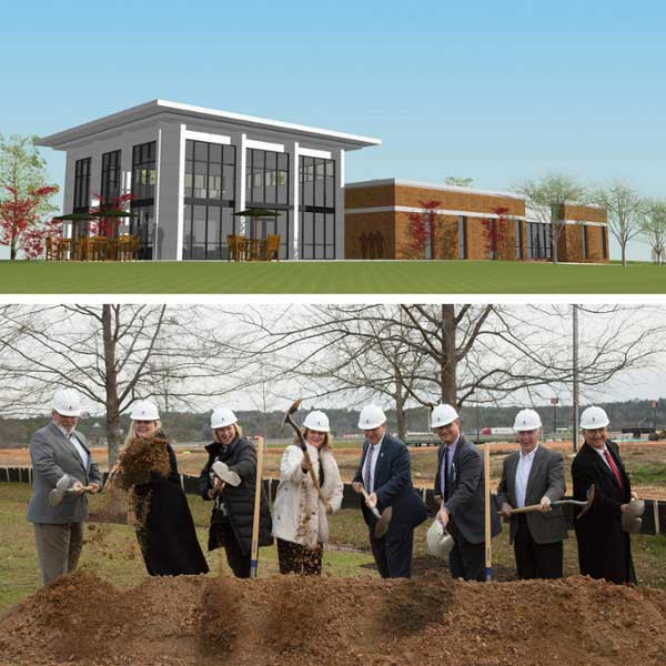 MGA Formally Begins Construction Of Peyton Anderson Enrollment Center