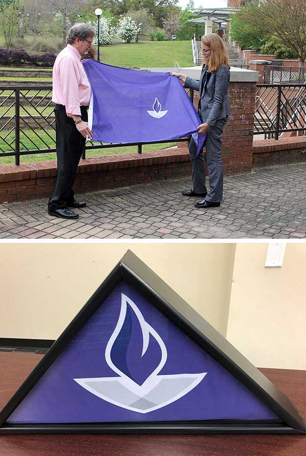 Special Flag Honors Memories Of MGA Students And Employees