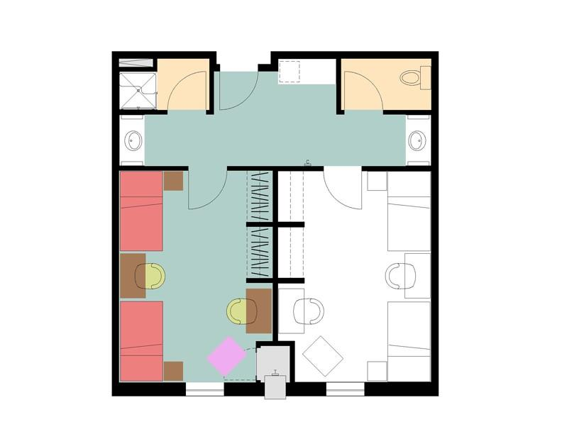 5 Residence Halls   3 Styles Of Room Part 46
