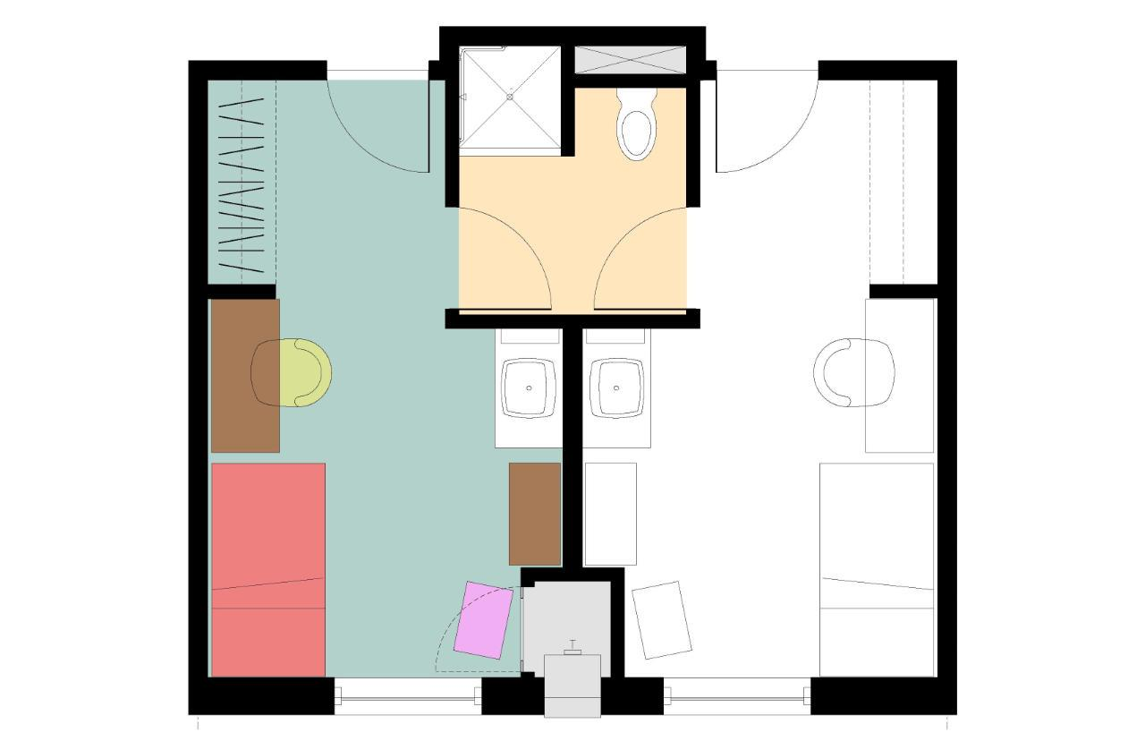 5 Residence Halls   3 Styles Of Room Part 35